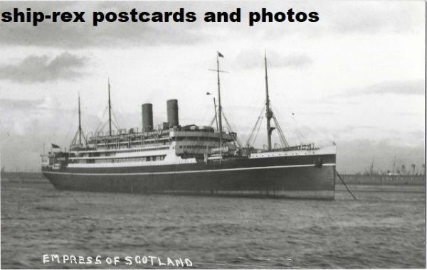 EMPRESS OF SCOTLAND (1921, Canadian Pacific) photo